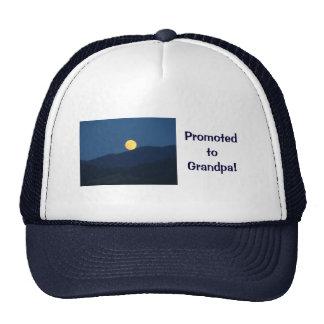 Promoted to Grandpa! Blue Twilight Trucker's Hat