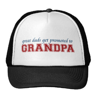 Promoted to Grandpa Cap
