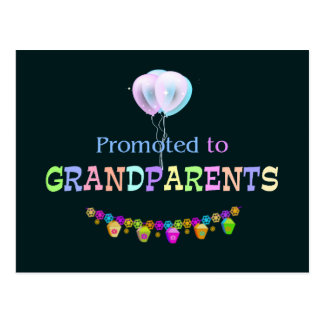 Promoted to Grandpa, celebration Postcard