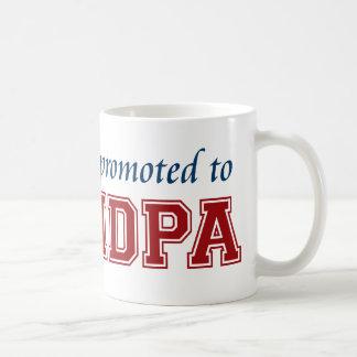 Promoted to Grandpa Coffee Mug
