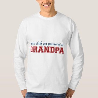 Promoted to Grandpa Tee Shirts