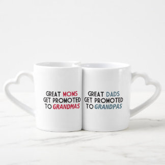 Promoted to Grandparents Lovers Mug