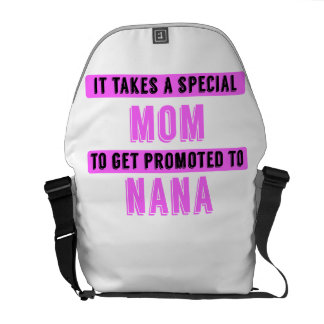 Promoted To Nana Courier Bag