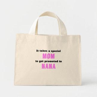 Promoted To Nana Mini Tote Bag