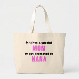 Promoted To Nana Jumbo Tote Bag