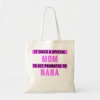 Promoted To Nana Budget Tote Bag