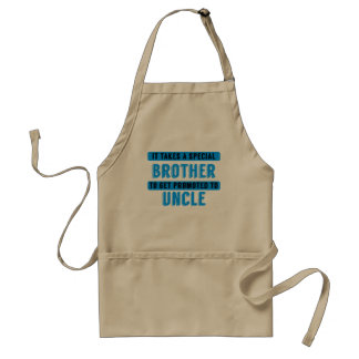 Promoted To Uncle Standard Apron
