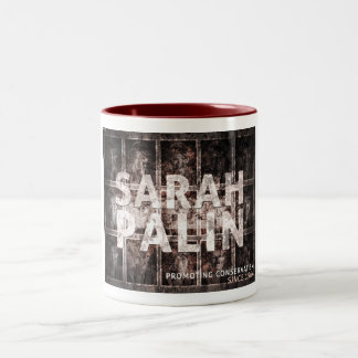 Promoting Conservatism Two-Tone Mug
