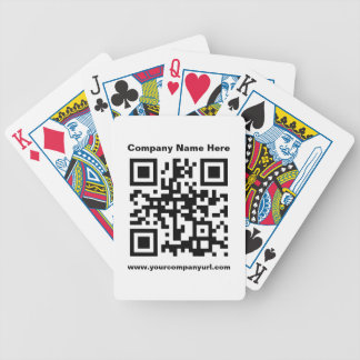 Promotional Company QR Code Playing Cards