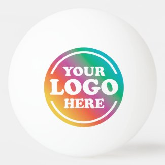 Promotional Custom Business Logo Ping Pong Ball