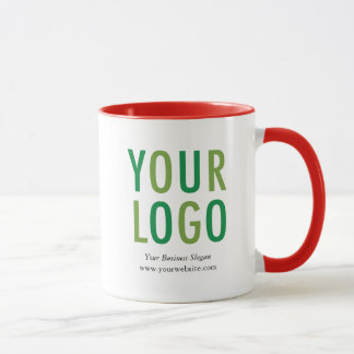Promotional Mug with Company Logo No Minimum