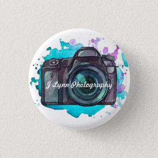 Promotional Photographer Camera Business Button
