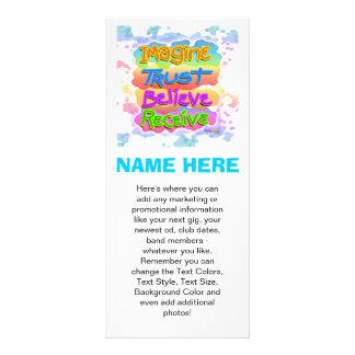 Promotional Rack Cards - BELIEVE Pop Art