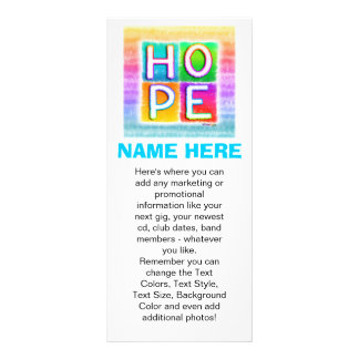 Promotional Rack Cards - Hope Pop Art