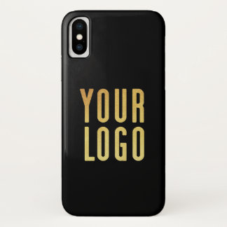 Promotional Your Company or Event Logo Black