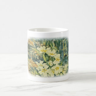 Promroses in spring coffee mug