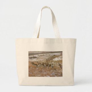 Pronghorn Mob Canvas Bags