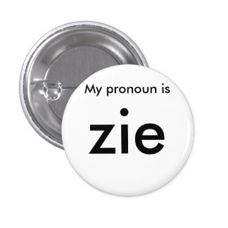 Pronoun badge
