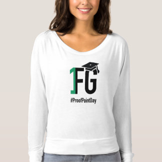 #ProofPointDay Women's Flowy T-Shirt