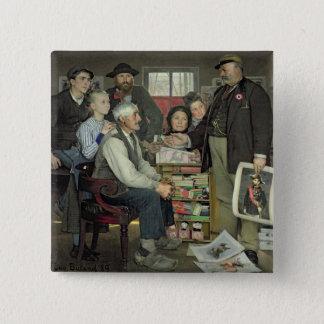 Propaganda, 1889 15 cm square badge