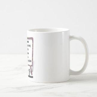 Propaganda Basic White Mug