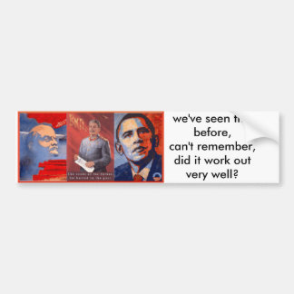 propaganda bumper stickers