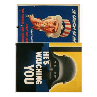 Propaganda post cards!