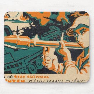 Propaganda Poster Mouse Pads