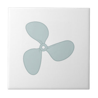 Propeller Small Square Tile