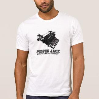 Proper Jack Company Typewriter Logo T-Shirt