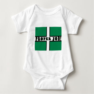 Proper Job - Devon Baby Bodysuit