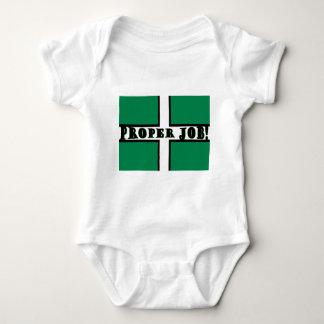 Proper Job - Devon Baby Bodysuit