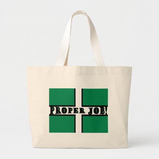 Proper Job - Devon Canvas Bag