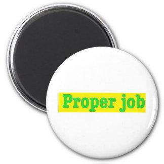 Properjob 6 Cm Round Magnet