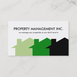 Property management business cards business card printing zazzle uk property management business cards colourmoves