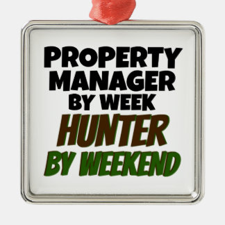 Property Manager by Week Hunter by Weekend Christmas Ornament