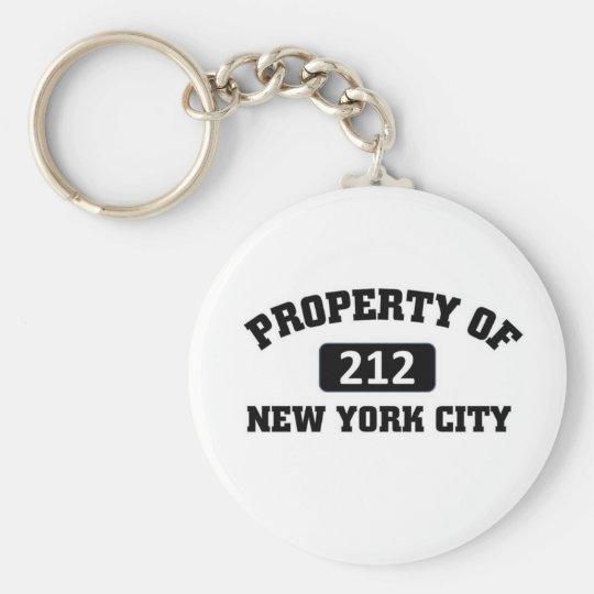 Property of 212 key ring