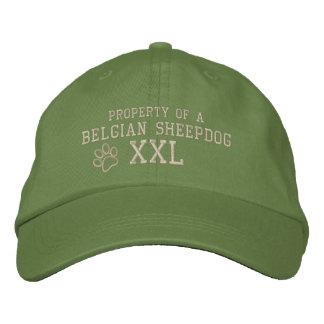 Property of a Belgian Sheepdog Embroidered Baseball Cap