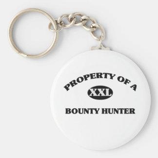 Property of a BOUNTY HUNTER Keychains