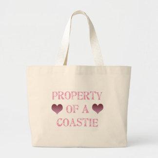 Property of a Coastie Canvas Bag