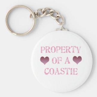 Property of a Coastie Keychain