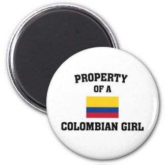Property of a Colombian Girl Magnet
