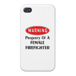 Property of a Female Firefighter Case For The iPhone 4