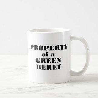 Property of a Green Beret Coffee Mugs