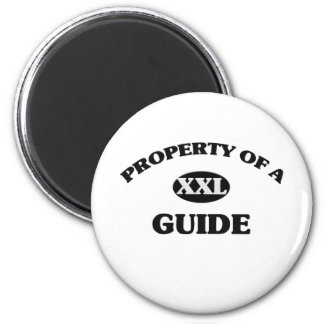 Property of a GUIDE Refrigerator Magnets