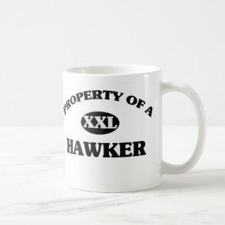 Property of a HAWKER Mug
