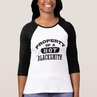 Property Of A Hot Blacksmith T-Shirt