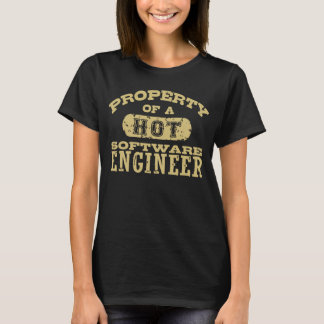 Property of a Hot Software Engineer T-Shirt