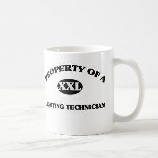 Property of a LIGHTING TECHNICIAN Coffee Mug