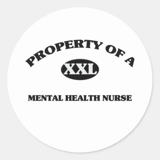 Property of a MENTAL HEALTH NURSE Sticker